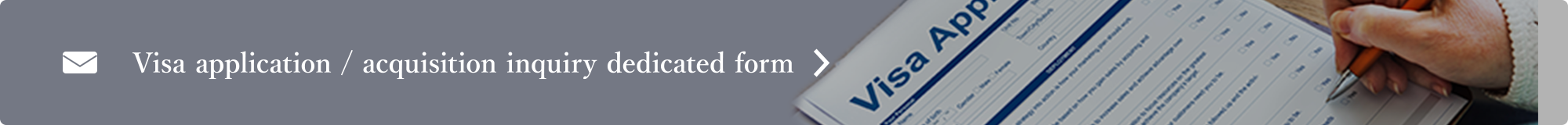 Visa application / acquisition inquiry dedicated form